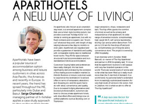 ApartHotel! A new way of Living!
